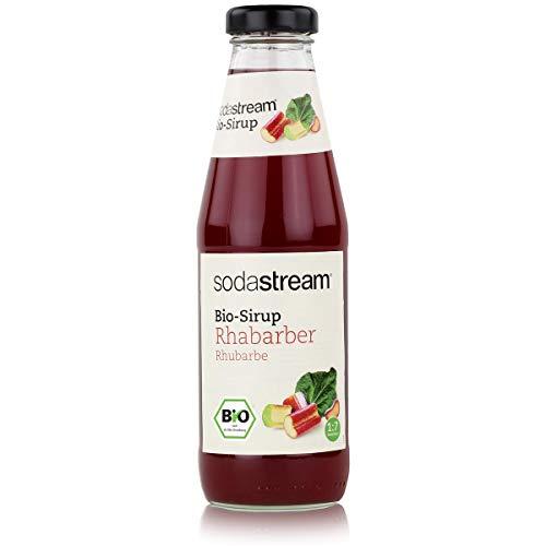 sodastream Rhabarbersirup mit 46% Rhabarbersaft