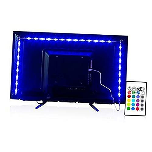 Led Strip Lights 6.56ft for 40-60in TV USB Backlight Kit with Remote 6.56 Feet ADHW