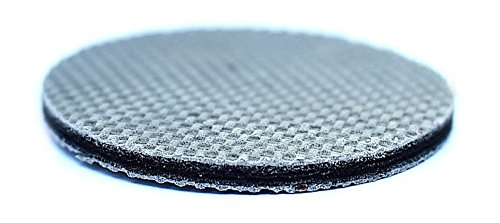 """InvisiHold Round Furniture Gripper, Floor Protector Pad Dense Rubber-Set of 4 (2"""" Round)"""