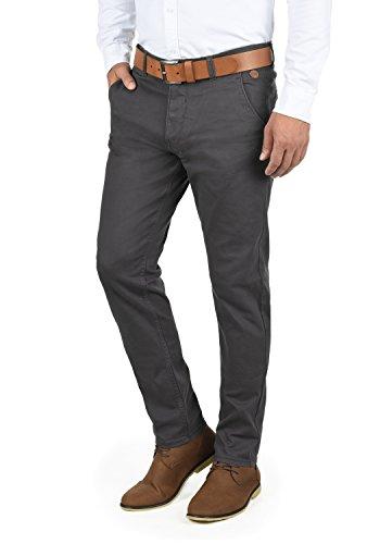 Blend Kainz Herren Chino Hose Stoffhose Aus Stretch-Material Regular Fit, Größe:W32/32, Farbe:Ebony Grey (75111)