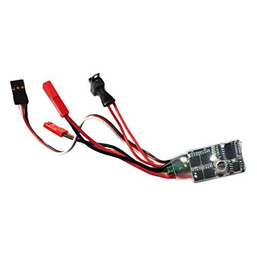 F Fityle Controlador de Velocidad Eléctrico ESC Cepillado de 2 Vías para...