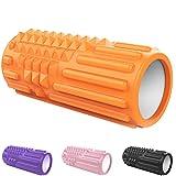 Foam Roller Rulli in Schiuma per fanno un Massaggio ai Tessuti Profondi - Rullo Massaggiatore...