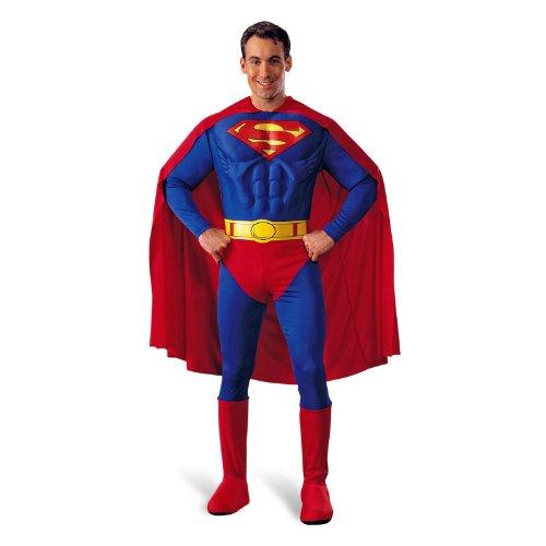 Superman - Déguisement Super Héro - Adulte - L