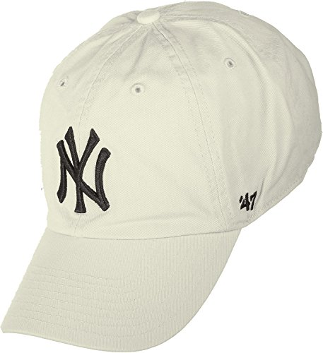 47 Brand MLB NY Yankees Clean Up Cap - Natural
