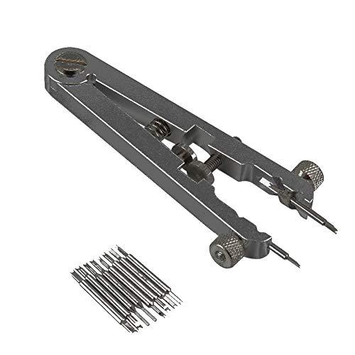 Watch Spring Bar Plier - Spring Bar Tweezers - Watch Repair Tool Kit, Spring Bar Tool, Watch Spring Bar Tool, Watch Standard Plier Remover Set Stainless Steel Bracelet Spring Bar Removing Tweezers Kit