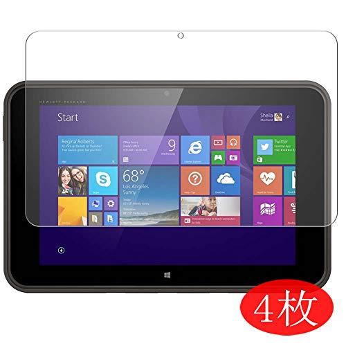 Vaxson 4 Stück Schutzfolie kompatibel mit HP Pro Tablet 10 EE G1 10.1