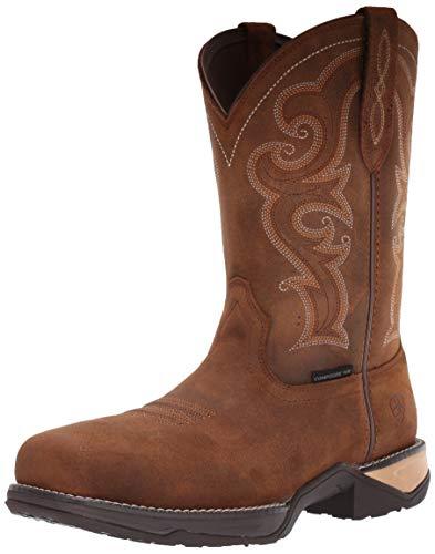 Ariat Women's Women's Anthem Comp Toe Western Boot, Chipmunk Brown, 9 C US