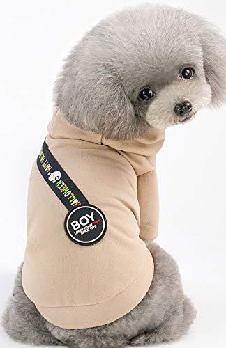 AMNVBD 2019 Neue Haustier Kleidung Hund Kleidung Baumwolle T-Shirt Frühling Sommer Bekleidung,...