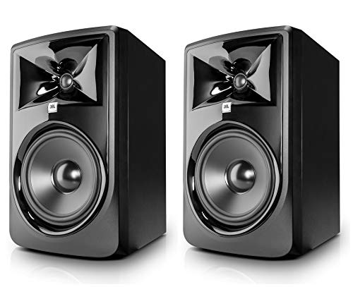 JBL Professional 308P MkII Next-Generation 8' 2-Way Powered Studio Monitor (308PMKII) (Pair)