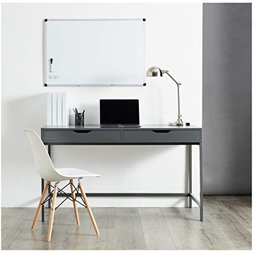 AmazonBasics Magnetic Framed Dry Erase White Board, 24 x 36 Inch