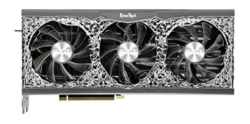 Palit GeForce RTX 3080 Ti GameRock 12GB GDDR6X Grafikkarte, 10240 Core, 1365MHz GPU, 1665MHz Boost, NVIDIA Ampere, HDMI, DisplayPort x 3, Angel ARGB Lighting, Advanced TurboFan 3.0, NED308T019KB-1020G
