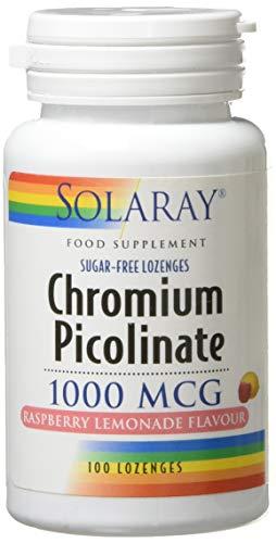 Solaray Chromium Picolinate 1000mg, 100 capsules