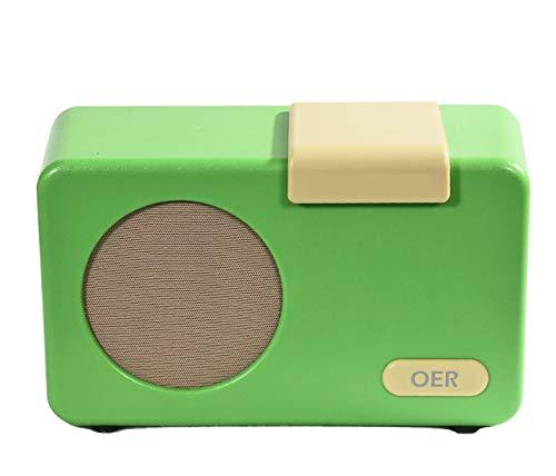 OER Muziekspeler (Groen) speciaal voor ouderen met dementie. Simpel en zelfstandig door de oudere met dementie te bedienen. Mooi hulpmiddel in de zorg voor iemand met dementie.