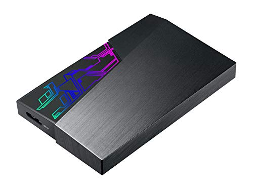 ASUS FX Gaming HDD externe 2TB Festplatte (EHD-A1T, Aura Sync, 5Gbit/s USB 3.1)