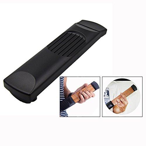 Itian draagbare tas akoestische gitaar gitaar oefengereedschap, gadget 6 band model voor beginners (zwart)