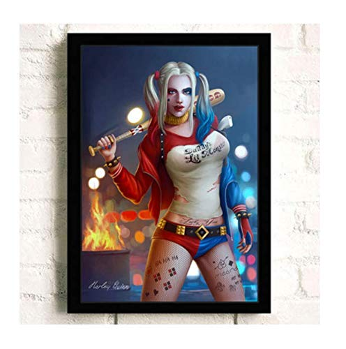H/E Suicide Squad Poster Canvas Painting Home Decoration Rahmenlos 40X60Cmy2358
