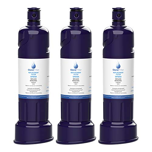Glacial Pure ICE2 F2WC9I1 Ice Maker Water Filter Compatible with W10565350, W10480323 Water Filter 3pack
