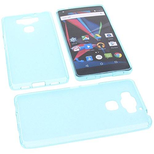foto-kontor Tasche für Archos Diamond 2 Plus Gummi TPU Schutz Handytasche blau