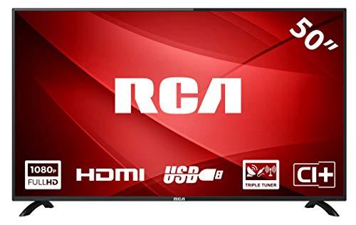 RCA RB50F1 Téléviseur LED 50 Pouces Full HD avec Connexion HDMI et USB
