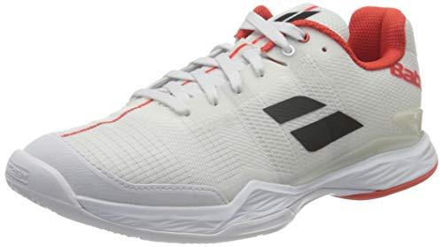 Babolat Herren Jet MACH II Clay Men Tennisschuhe, White, 36 EU