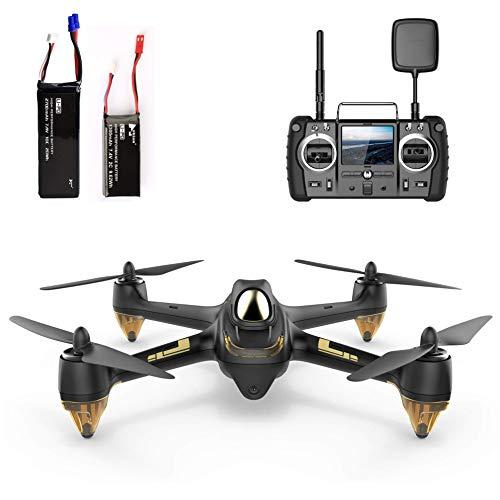 HUBSAN H501S X4 PRO Brushless FPV Droni Quadricotteri GPS Fotocamera 1080P HD 5.8Ghz Headless Follow Me GPS Hold Altitude con H906A Telecomando (H501S Nero)