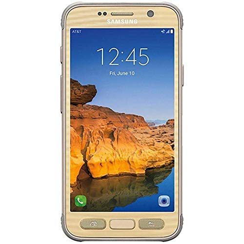 Samsung Galaxy S7 Active G891A 32GB GSM Unlocked Shatter-Resistant, Extremely Durable Smartphone w/ 12MP Camera (Gold) (Renewed)
