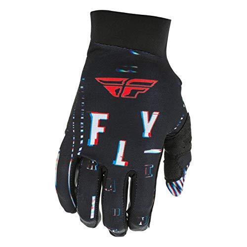 Fly Racing Handschuhe Pro Lite Glitch schwarz-rot-blau