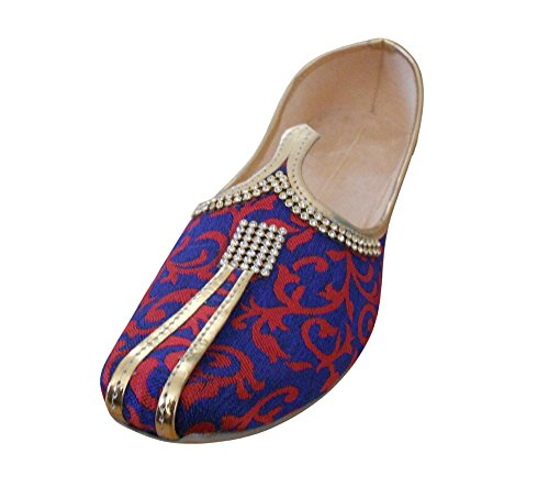 Kalra Creaciones Hombres de Zapatos de Novio de Seda Tradicional de la...