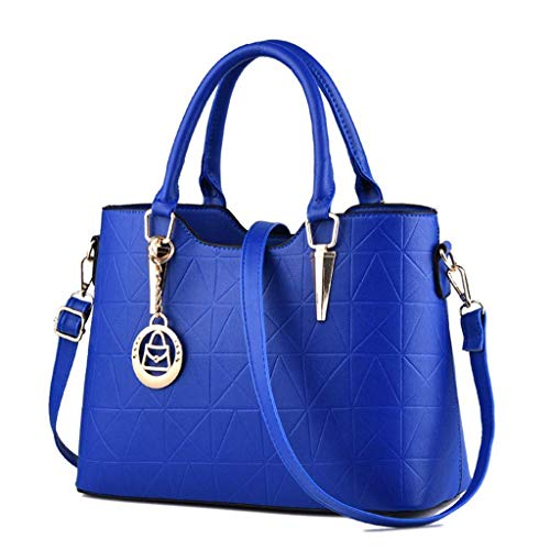NA Moda Borse Donna-Satchel Borse e borsette for Le Donne Spalla Maniglia Superiore Tote Bags (Color : G)