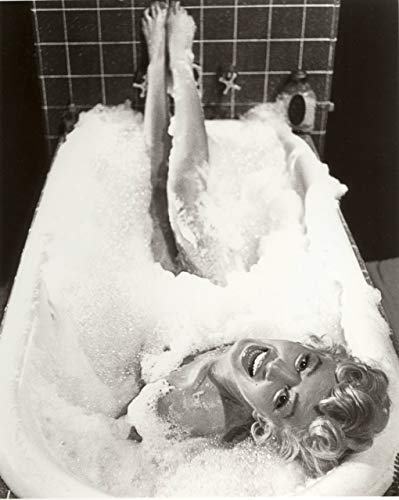 Marilyn Monroe Bubble Bath Poster Art Home Bathroom Decor Posters Vivid Imagery Laminated Poster Print-20 Inch By 30 Inch Laminated Poster With Bright Colors And Vivid Imagery