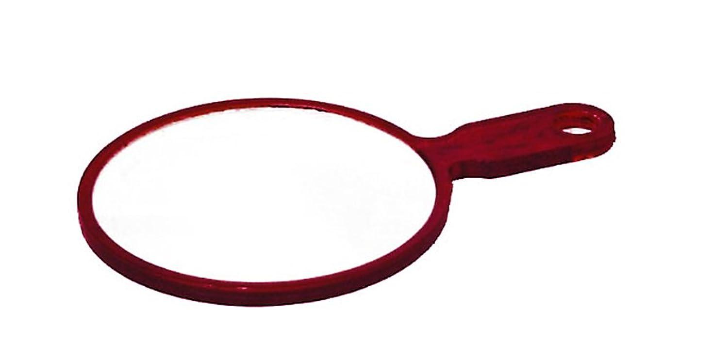 利用可能華氏原油鏡 ハンドミラー No.402 ブラウン