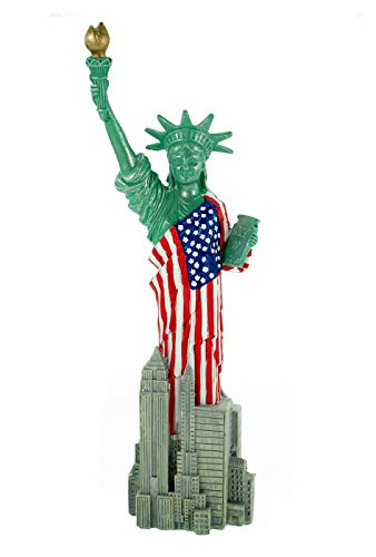 Kremers-Schatzkiste Freiheitsstatue Statue of Liberty 29 cm New York Figur Skulptur USA Reise Deko