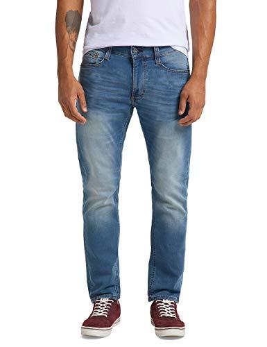 MUSTANG Herren Slim Fit Oregon Tapered K Jeans, 536 Blau, 33W / 32L