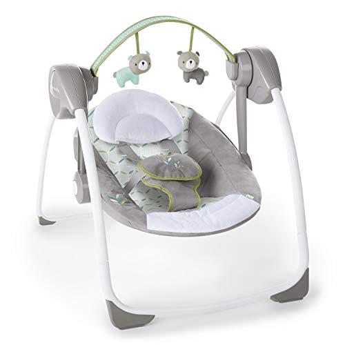 41NjJ5EIFIL 10 Best Portable Baby Swings on the Market 2021 Review