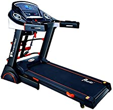 Powermax Fitness TDA-230M 2 HP (4 HP Peak) Motorized Treadmill for Home Use - Free Installation Service - 3 Years Motor Wa...