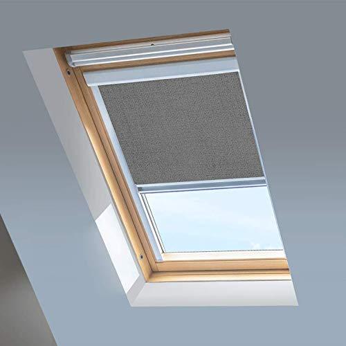 Verdunkelungsrollos für Dachfenster von RoofLITE/Dakstra, Farbe: Storm Grey (F6A)