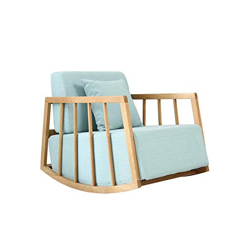 silla Mecedora, sillón, cómodo, moderno, relajado y relajado, sofá reclinable, adulto, de madera...