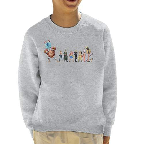 Cloud City 7 de strohoeden bemanning een stuk kind Sweatshirt