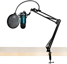 Blue Yeti Microphone Teal with Knox Boom Arm, Shock Mount and Pop Filter