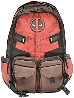 backpack of comic Deadpool Peripheral products double shoulder bagpack with adjustable straps