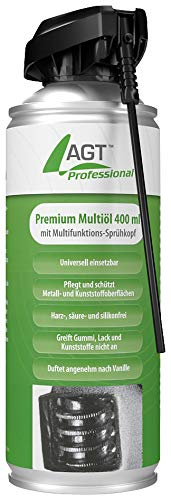AGT Professional Öl: Premium-Multiöl mit Multifunktions-Sprühkopf, 400 ml (Kontaktlöser-Spray)