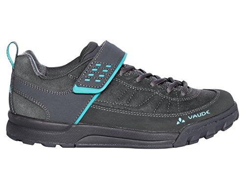 VAUDE Damen Women's Moab Low AM Mountainbike Schuhe, Grau (Iron 844), 39 EU