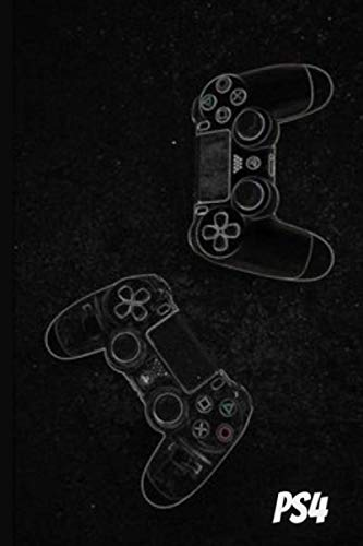 playstation 4 120 page 6x9 notebook: notebook funny play ps4