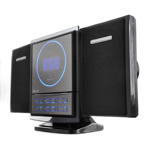auna Mikro-Stereoanlage Kompaktanlage (USB2.0/SD Eingang, MP3, WMA) Wandmontage