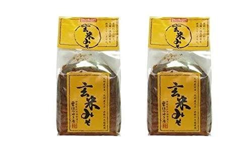 [はつゆき屋] 味噌 玄米みそ 1kg×2 /九州産玄米/九州産大豆/天塩を使用