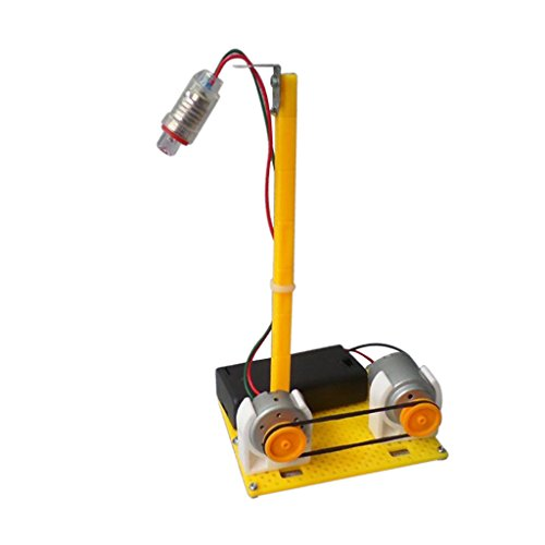 Sharplace Générateur De Puissance De Micro-électricité Led Lampe De Table De Puissance Du Moteur Assembler Jouet