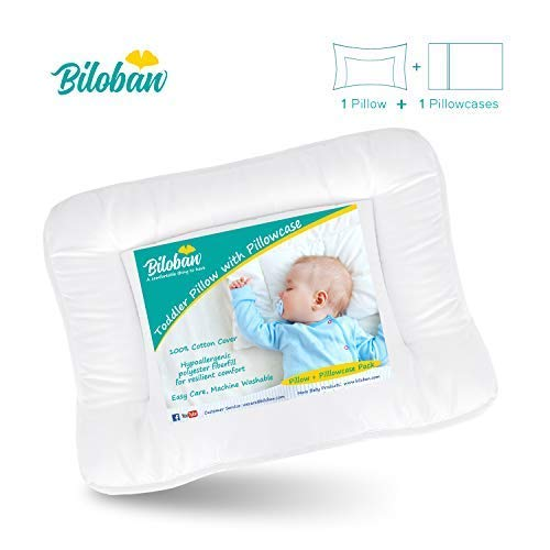 Baby Pillow Anti-Suffocation Safety Pillow for Newborn Crib Bassinet Playpen