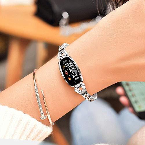 Fitness Tracker voor vrouwen IP67 Waterdichte Activity Tracker Smart horloge met hartslagmeter Kleurenscherm Fitness horloge met slaapmonitor Calorieteller Bluetooth horloge voor Android/iOS-