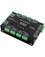 RGBW DMX 512 LED Decoder Controller DMX Dimmer DC5-24V RGBW RGB LED Light 8 Bit/16 Bit