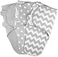 Swaddle Blanket Baby Girl Boy Easy Adjustable 3 Pack Infant Sleep Sack Wrap Newborn Babies by Comfy Cubs